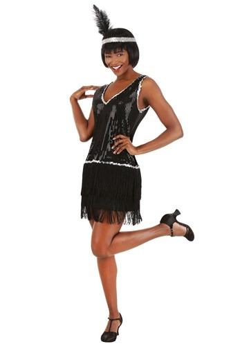 Womens Onyx Flapper Costume