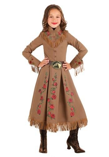 Girls Annie Oakley Cowgirl Costume