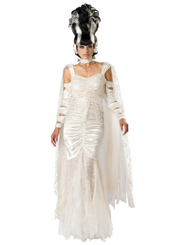 Click Here to buy Deluxe Monster Bride Costume from HalloweenCostumes, USA Funds & Shipping