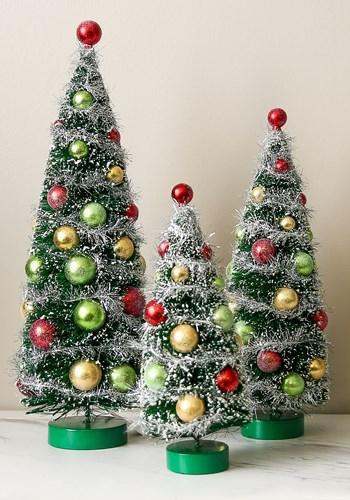 Decorative Christmas Trees (3 pc. set)