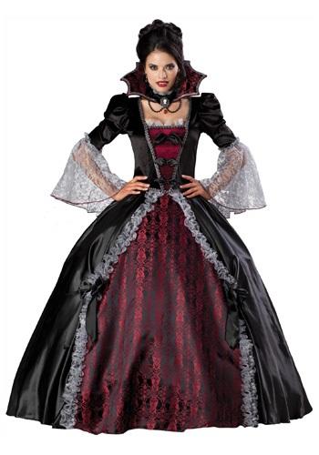 Versailles Vampiress Costume - Womens Victorian Vampire Costume