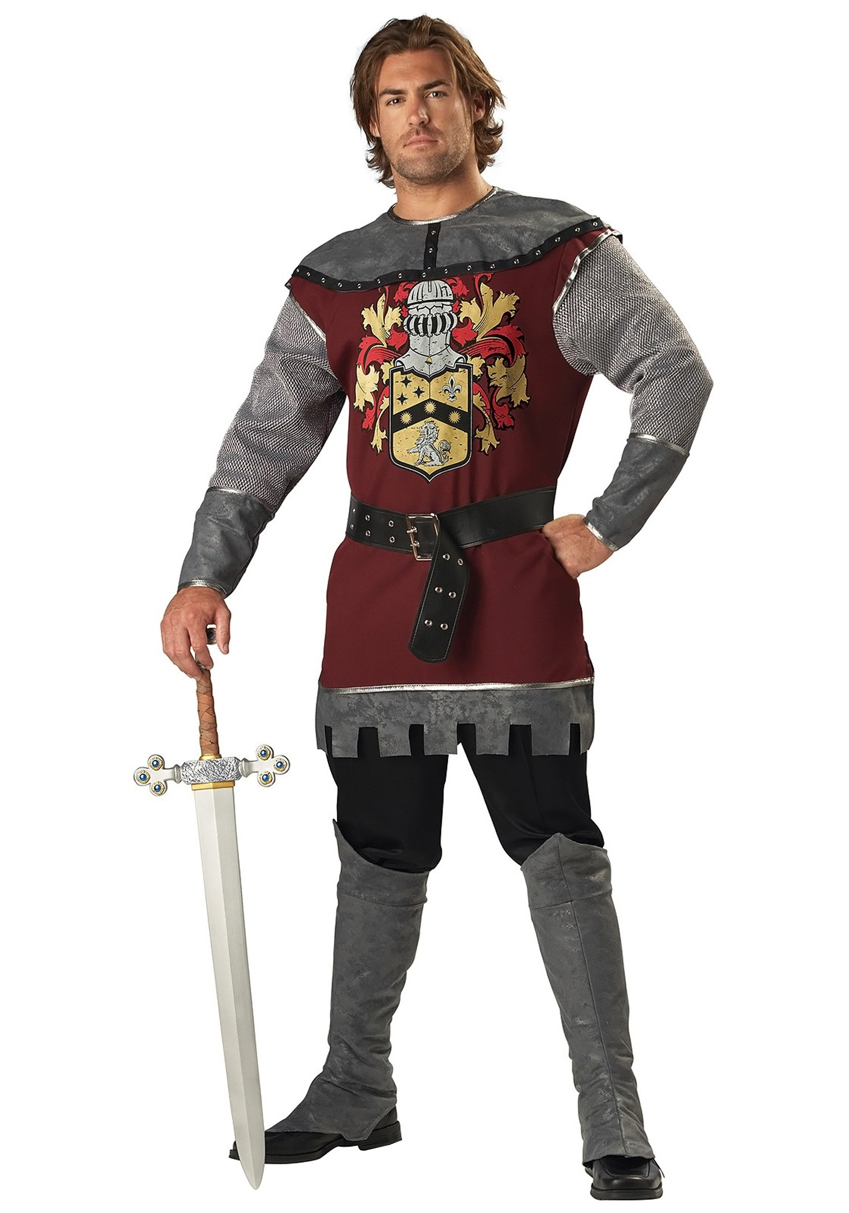 sc 1 st  Halloween Costumes & Noble Knight Costume