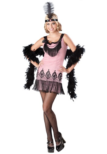 Girls Teen Flapper Costume