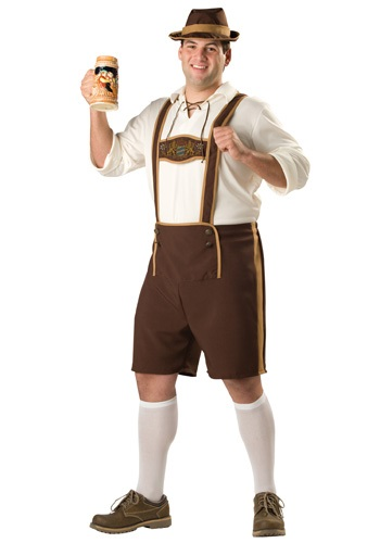 Plus Size Bavarian Guy Costume By: In Character for the 2015 Costume season.