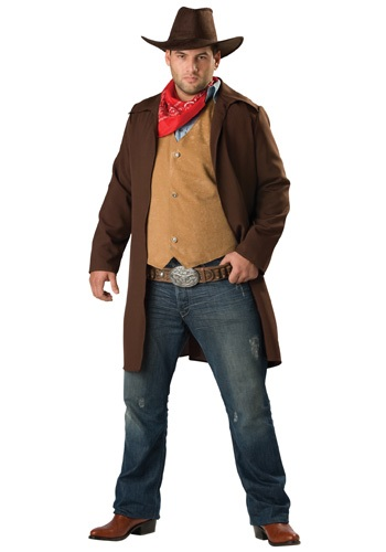 Plus Size Rawhide Cowboy Costume By: In Character for the 2015 Costume season.