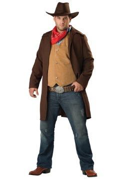 Plus Size Rawhide Cowboy Costume