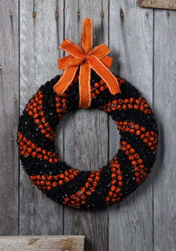 "16.5"" Foam Halloween Berry Wreath Halloween Decoration"