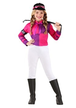 Girl's Jockey Costume 1