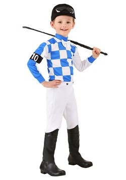 Boy's Toddler Jockey Costume