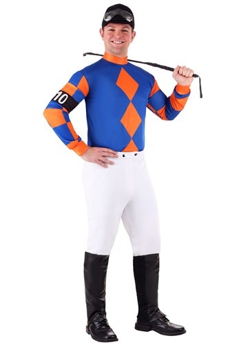 Plus Size Kentucky Derby Jockey Costume Main