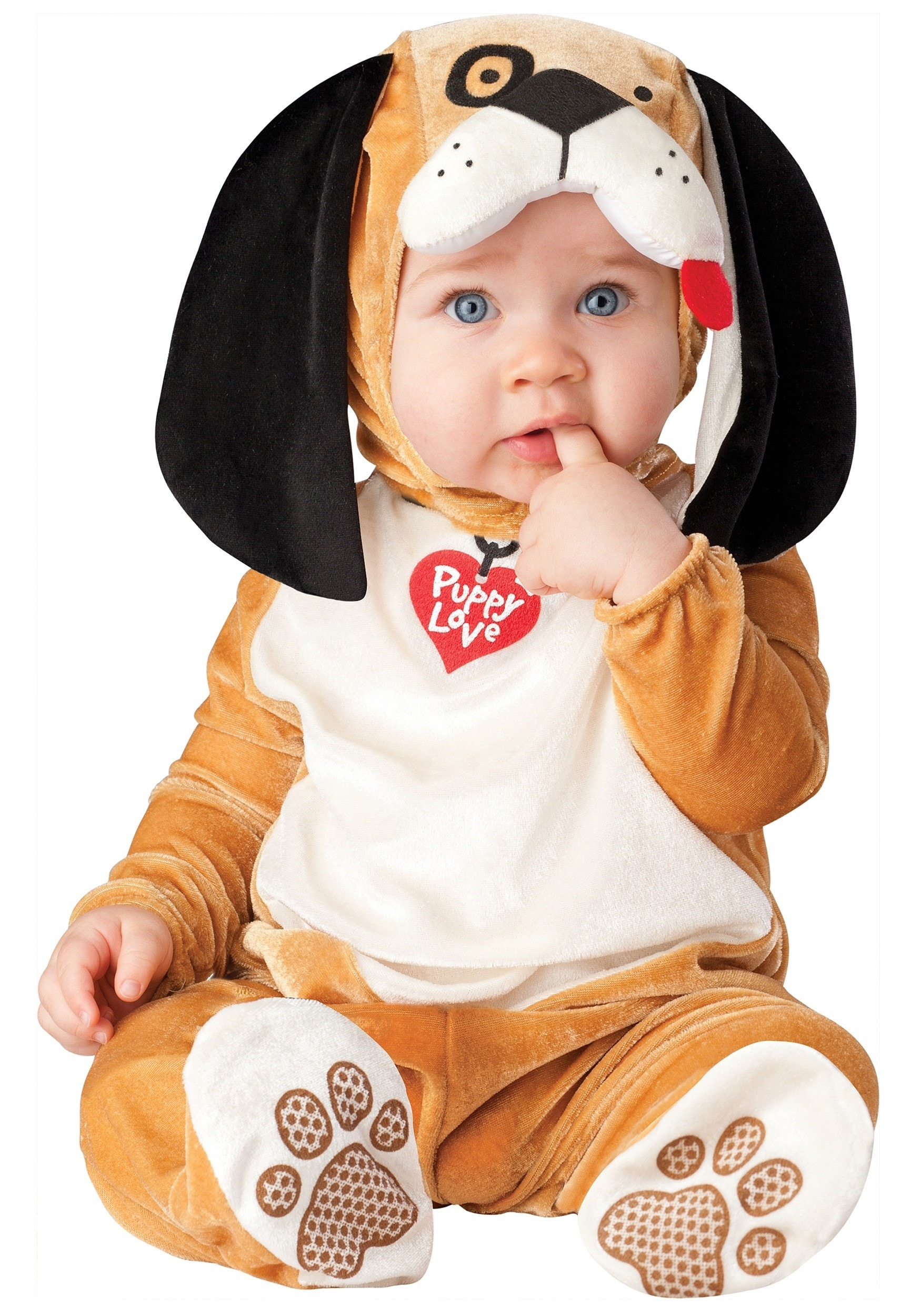 infant puppy love costume. Black Bedroom Furniture Sets. Home Design Ideas