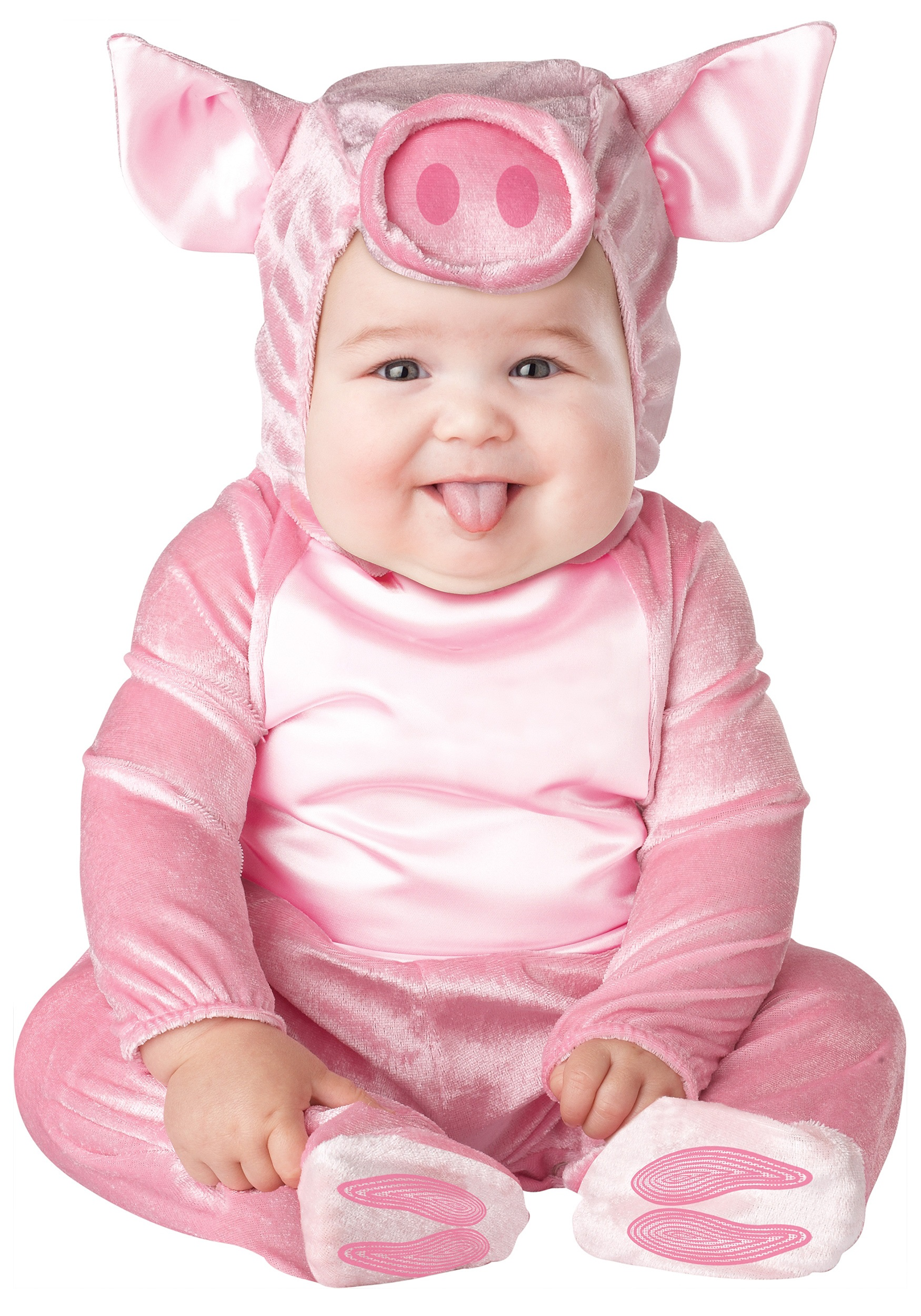 infant lil piggy costume. Black Bedroom Furniture Sets. Home Design Ideas