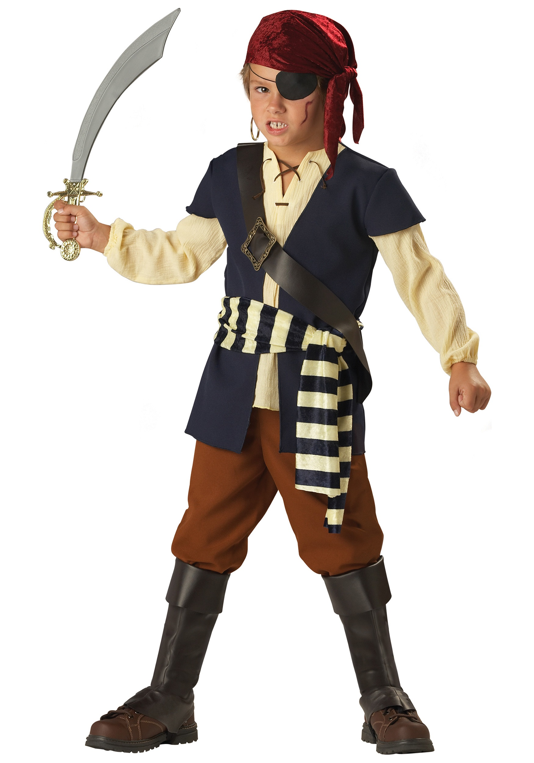 Kids Pirate Mate Costume  sc 1 st  Halloween Costumes & Kidu0027s Pirate Costumes - Boys Girls Pirate Halloween Costume