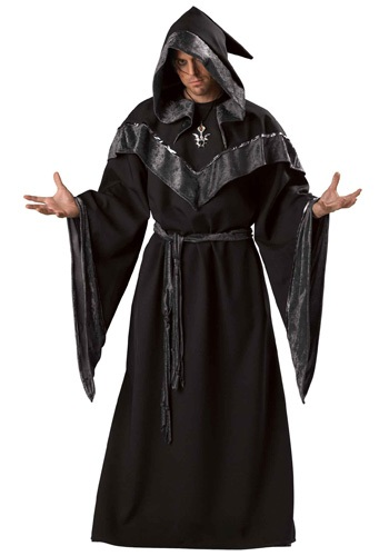 Click Here to buy Mens Dark Sorcerer Costume from HalloweenCostumes, USA Funds & Shipping