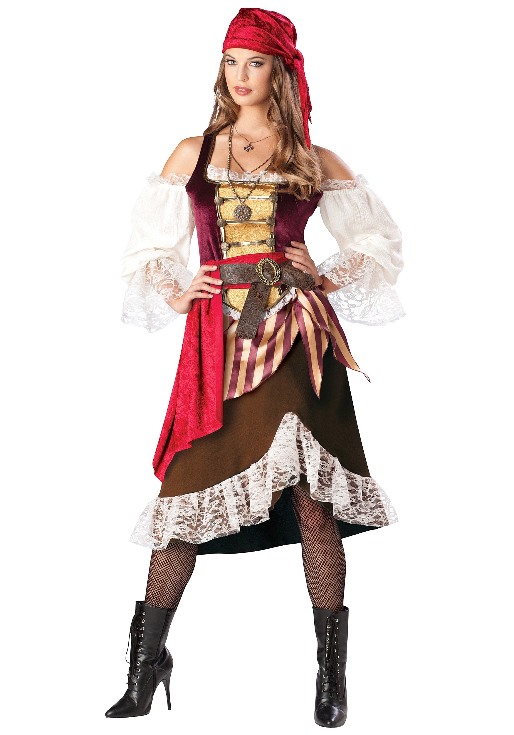 Deckhand Darlinu0027 Pirate Costume  sc 1 st  Halloween Costumes & Pirate Costumes for Women - Female Pirate Halloween Costume