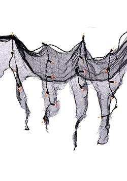 36 Orange Light w/ Black Drape Halloween Décor