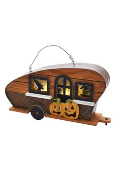 Halloween Camper LED Wall Décor