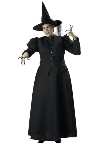 Plus Size Womens Wicked Witch - Plus Size Wizard of Oz Costumes for Women