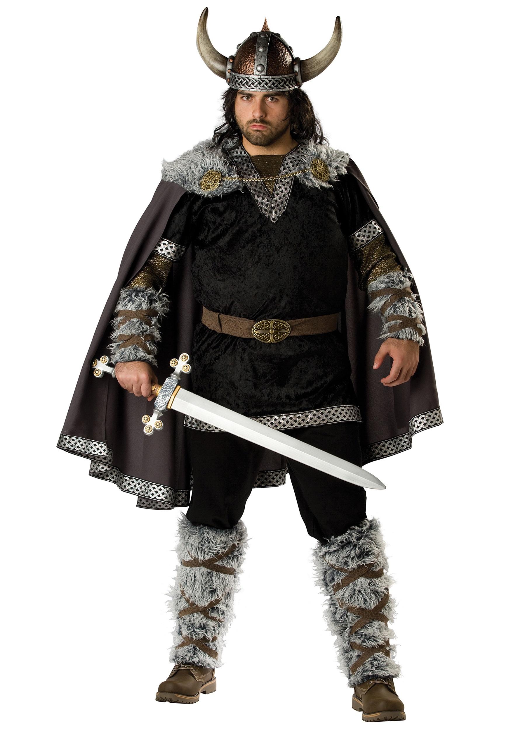 Plus Size Viking Warrior Costume