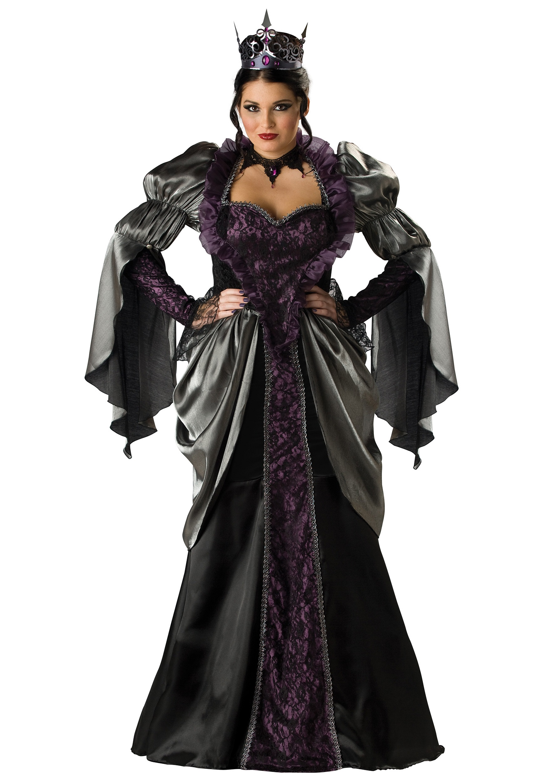 8520817cbe204 Plus Size Wicked Queen Costume