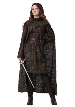 Plus Size Women's Winter Warrior Costume 1