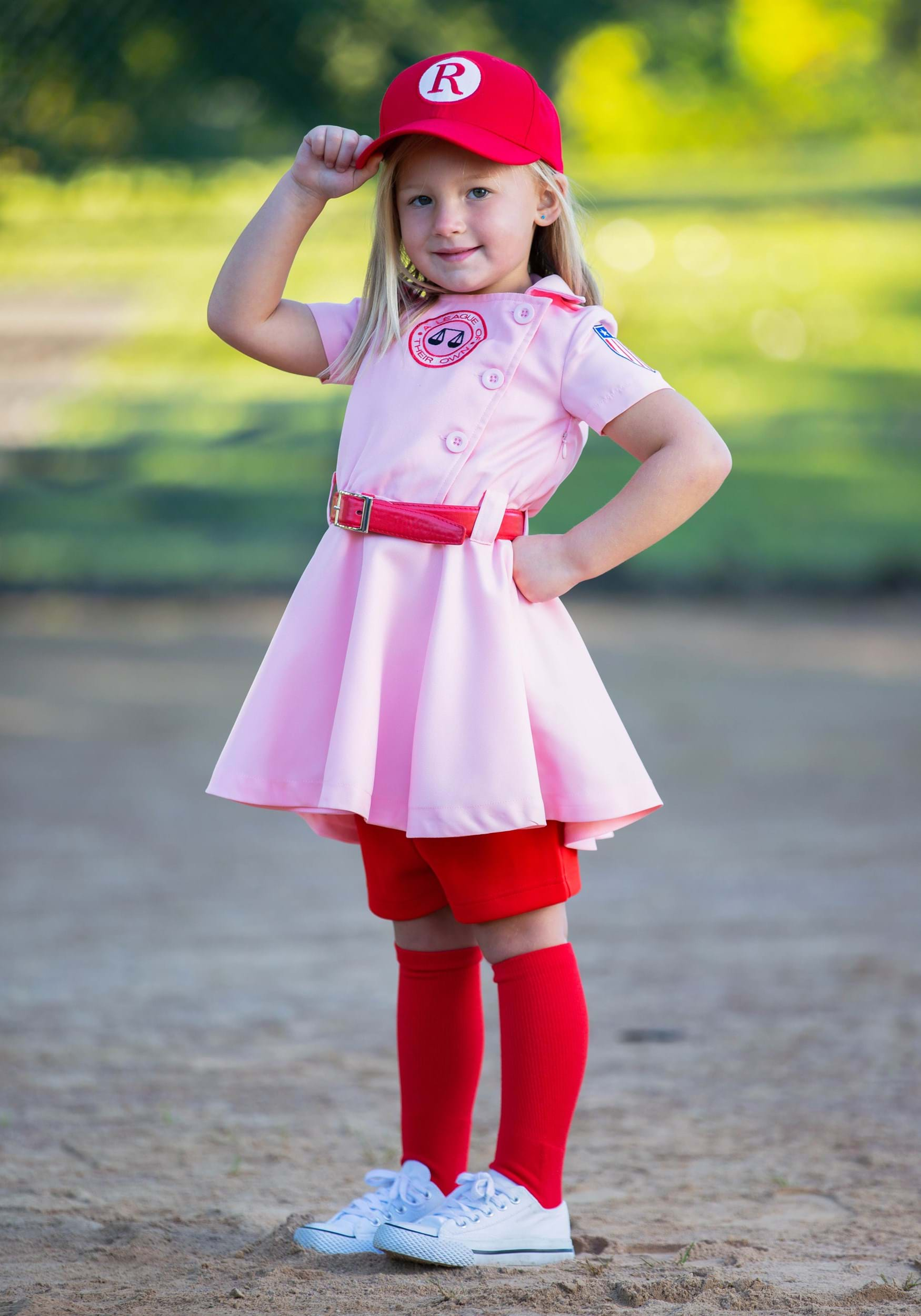 League of Their Own Toddler Dottie Luxury Costume For Girls