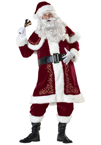 Click Here to buy Jolly Ole St. Nick Santa Costume from HalloweenCostumes, CDN Funds