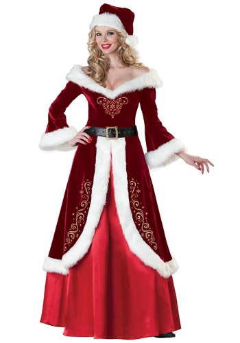 Click Here to buy Mrs. St. Nick Costume from HalloweenCostumes, USA Funds & Shipping