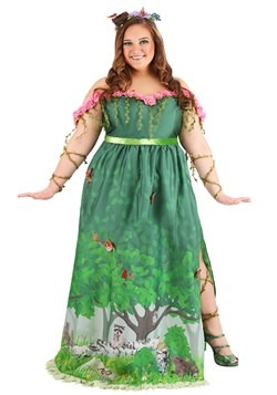 Women's Plus Size Mother Nature Costume