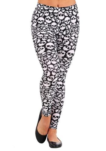 Women's Stacked Skulls Leggings