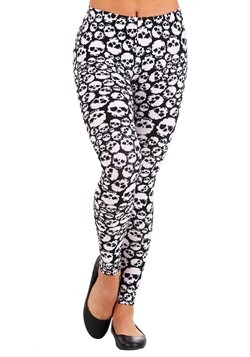 Women's Stacked Skulls Leggings