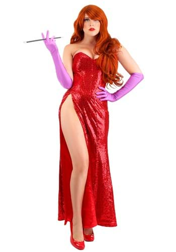 Plus Size Women's Scarlet Singer Costume