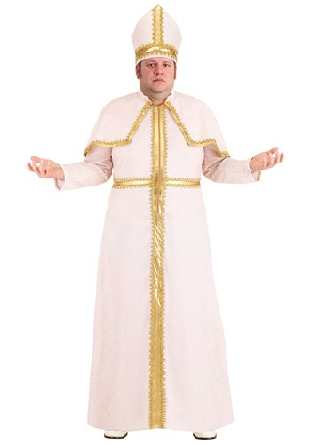 Plus Size Mens Pious Pope Costume