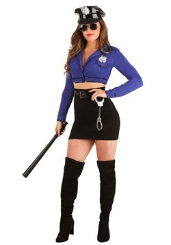 Women's Vice Squad Cop Costume