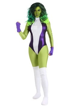 She Hulk Deluxe Adult Costume main