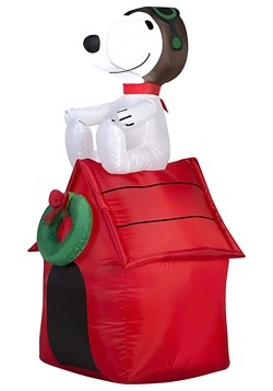 Peanuts Inflatable Snoopy on Doghouse