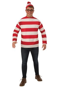 Where's Waldo Plus Size Adult Costume
