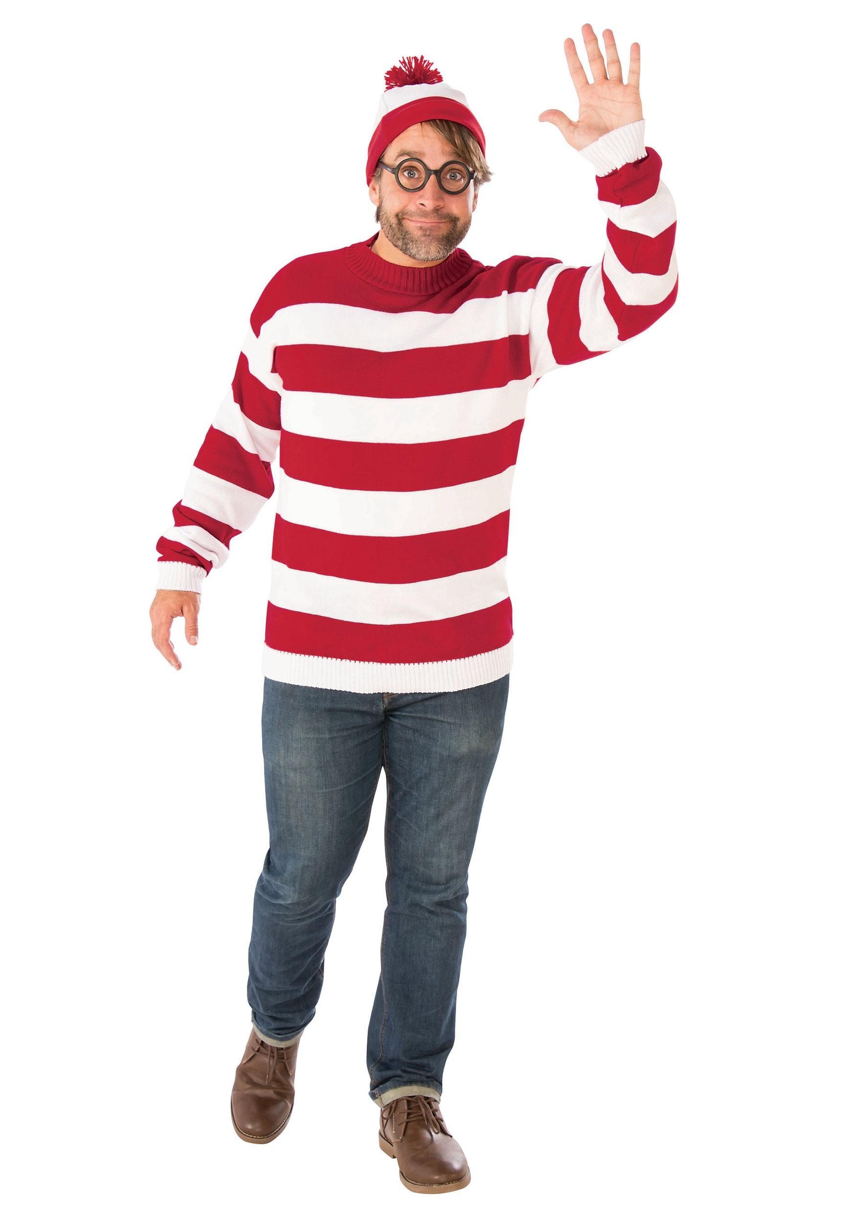 Marty McFly | Wheres wally fancy dress, Adult fancy dress ...  |Waldo 90s Halloween Costumes For Women