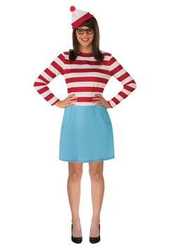 Where's Waldo Wenda Plus Size Adult Costume