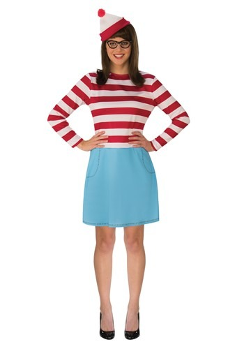 Where's Waldo Wenda Adult Costume
