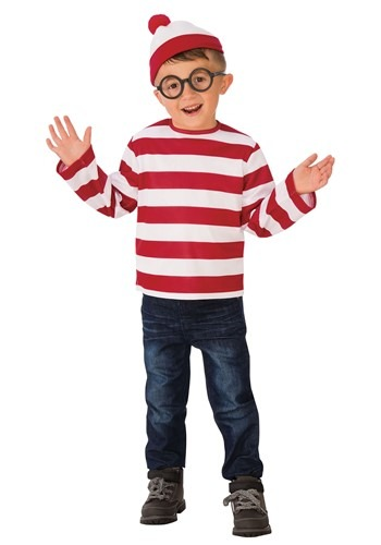 Wheres Waldo Kids Costume