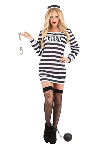 Women's Great Escape Prisoner Costume1