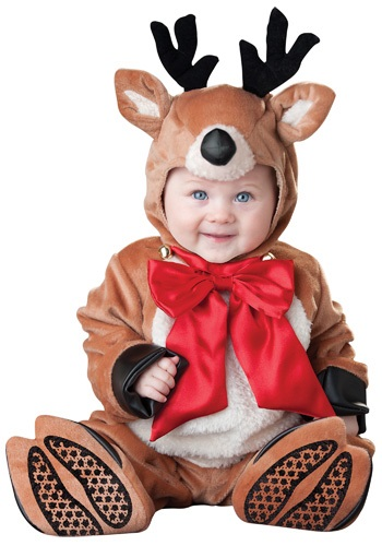 Click Here to buy Baby Reindeer Costume from HalloweenCostumes, USA Funds & Shipping