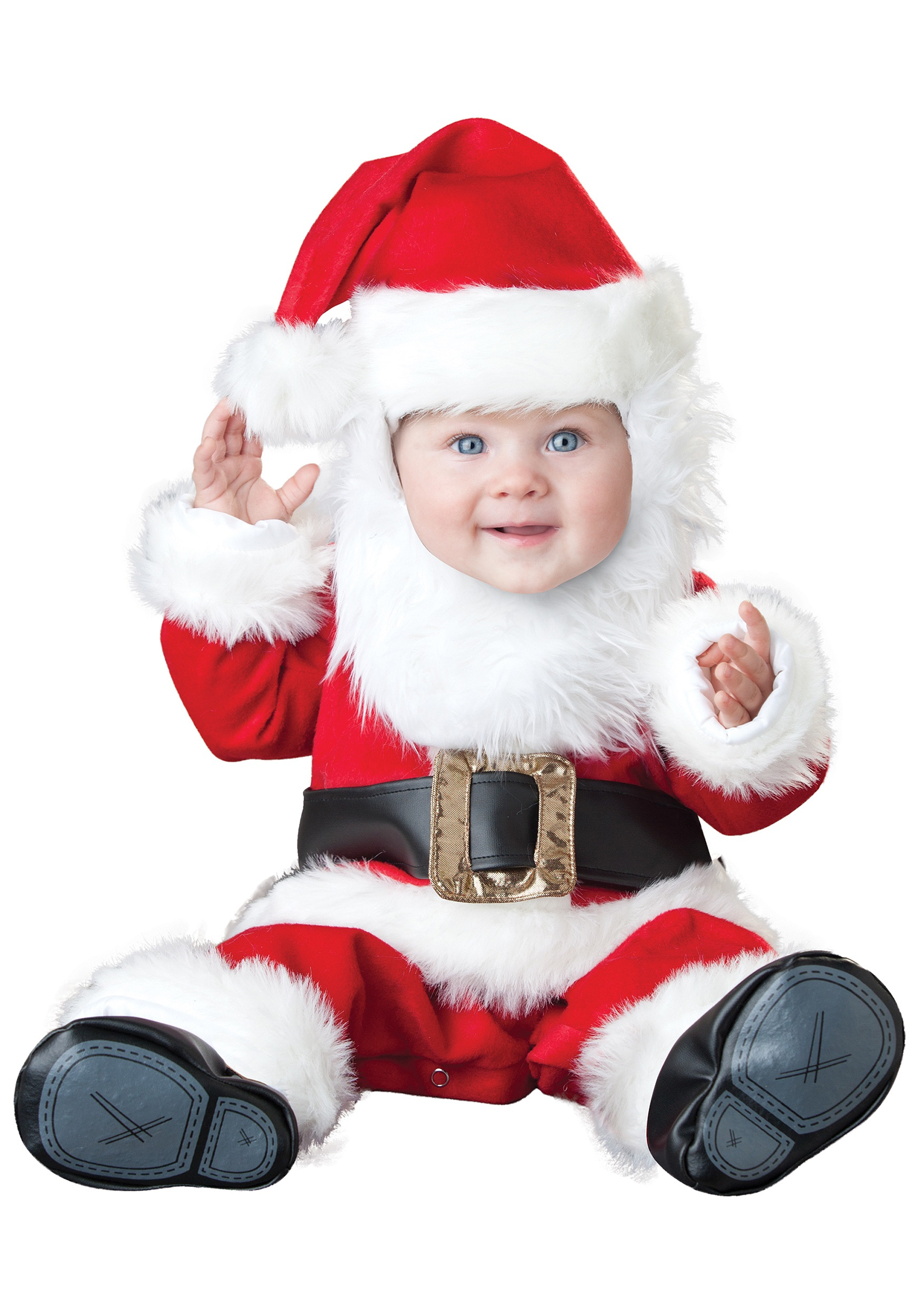 santa baby costume - Santa Claus Children