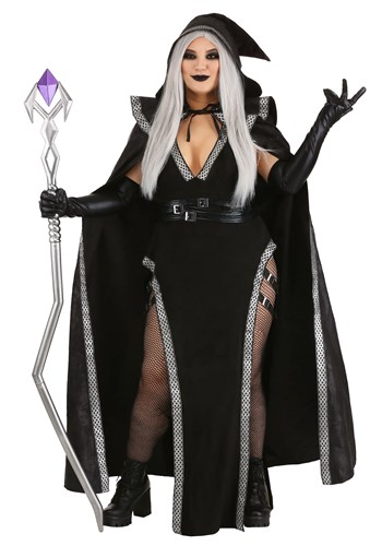 Plus Size Womens Urban Warlock Costume