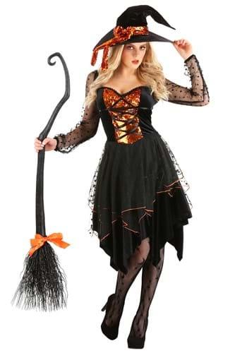 Womens Starlit Witch Costume