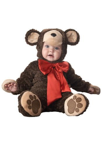 Click Here to buy Baby Teddy Bear Costume from HalloweenCostumes, USA Funds & Shipping