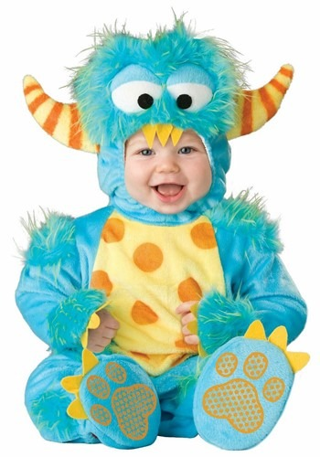 Click Here to buy Baby Lil Monster Costume from HalloweenCostumes, USA Funds & Shipping