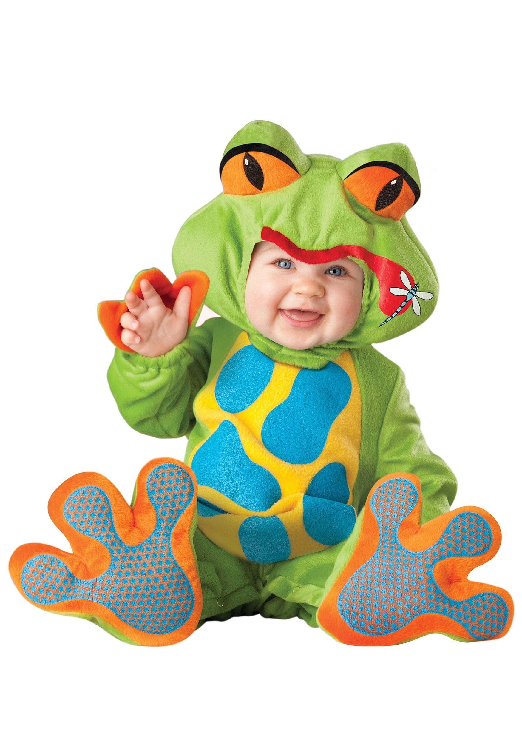 baby lil froggy costume. Black Bedroom Furniture Sets. Home Design Ideas