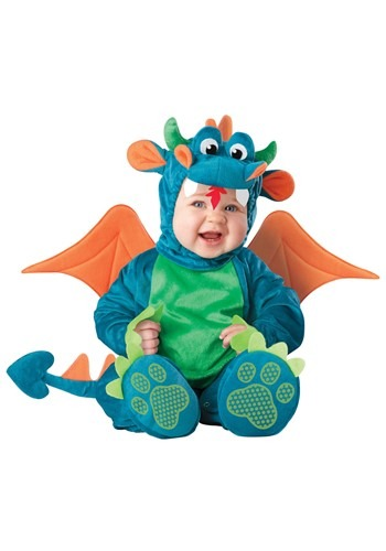 Baby Plush Dragon Costume - Infant Animal Halloween Costume Ideas